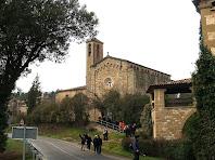 L'església de Sant Jaume del Pont de Cabrianes des de Can Bertran