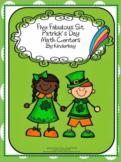 http://www.teacherspayteachers.com/Product/Five-Fabulous-St-Patricks-Day-Math-Centers-583322