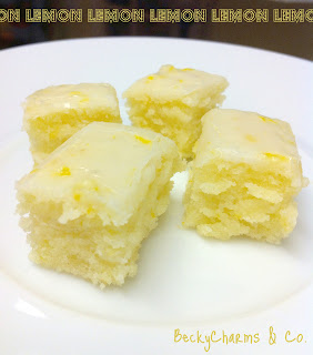 lemon brownies fudgy dessert beckycharms recipe dessert
