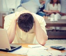 estresse financeiro