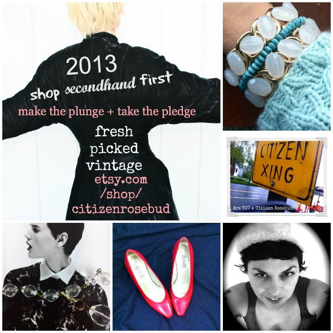 SHOP SECONDHAND FIRST: The Citizen Rosebud Etsy Shop