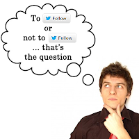 twitter follows how to decide