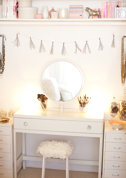 dressing+table+ Sparkling Interior Inspiration
