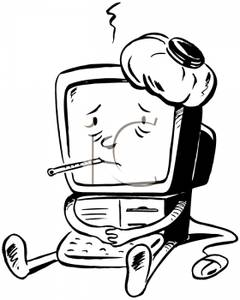"<img src=""mypcissick.jgp"" alt=""Picture of my sick computer""/>"