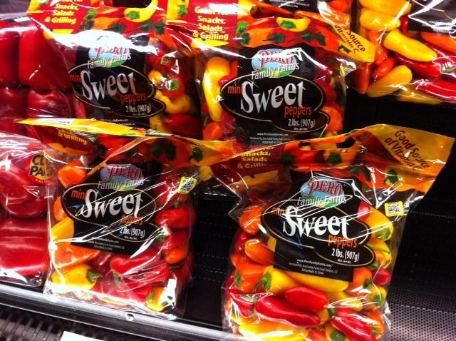 howchow mini sweet peppers at wegmans my secret healthy