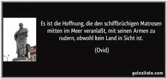 Ovid Zitat