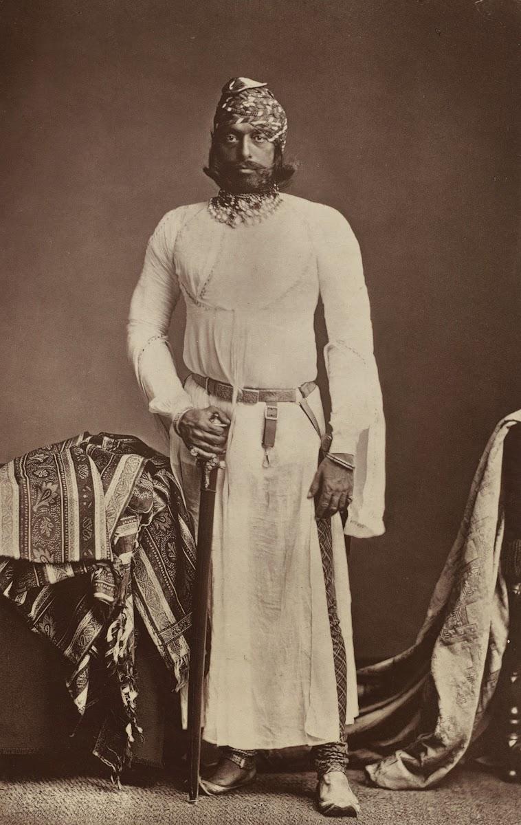 Maharaja of Jodhpur Jaswant Singh II - 1877