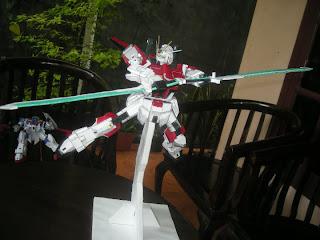 Sword Impulse Gundam Papercraft-1
