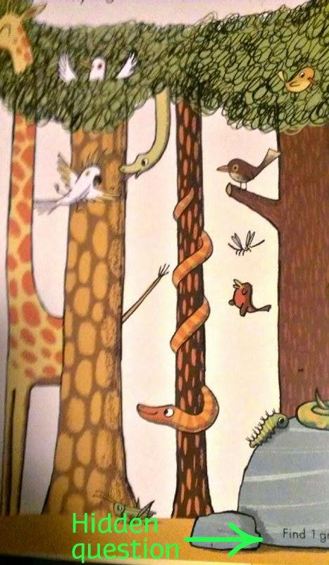 Spot A Lot! Animal Escape sanple