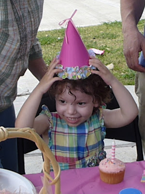 Birthday Hat & Cupcake by Nina's Show & Tell