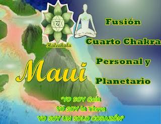 Yo Soy Gaia y hoy regresé para guiarlos en la fusión de su cuarto Chakra personal con el mío en el planeta.