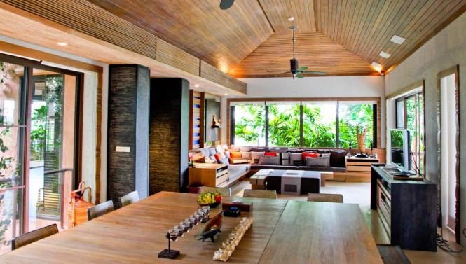 Baños Estilo Tailandes:Los baños y el spa están llenos de encanto, con dos pilas de mármol