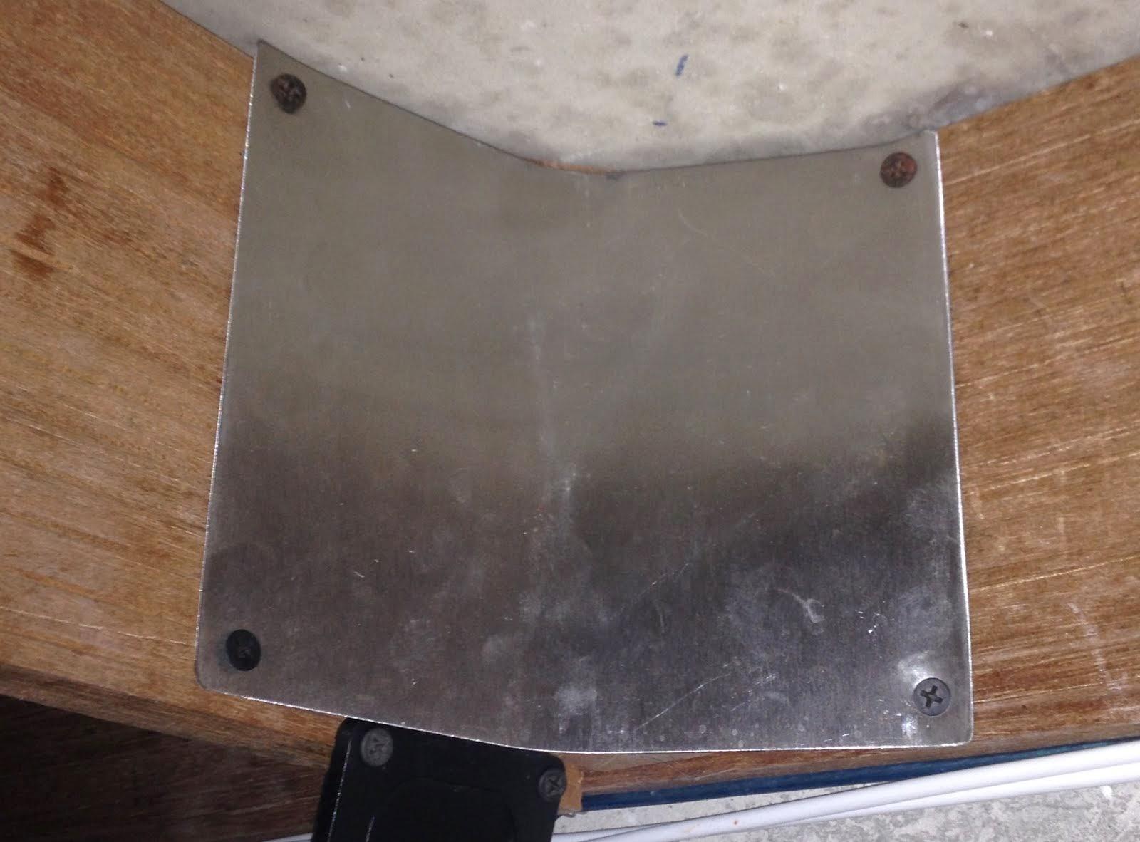 Stainless Steel Corner Plate !!!