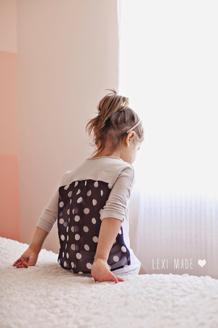 Tutorial camiseta niña con espalda de gasa