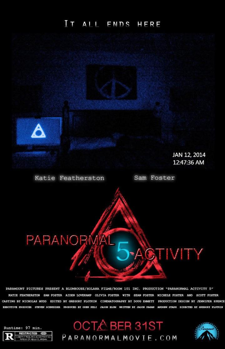 Watch Paranormal Activity 5(2014) Online Putlocker: The plot is