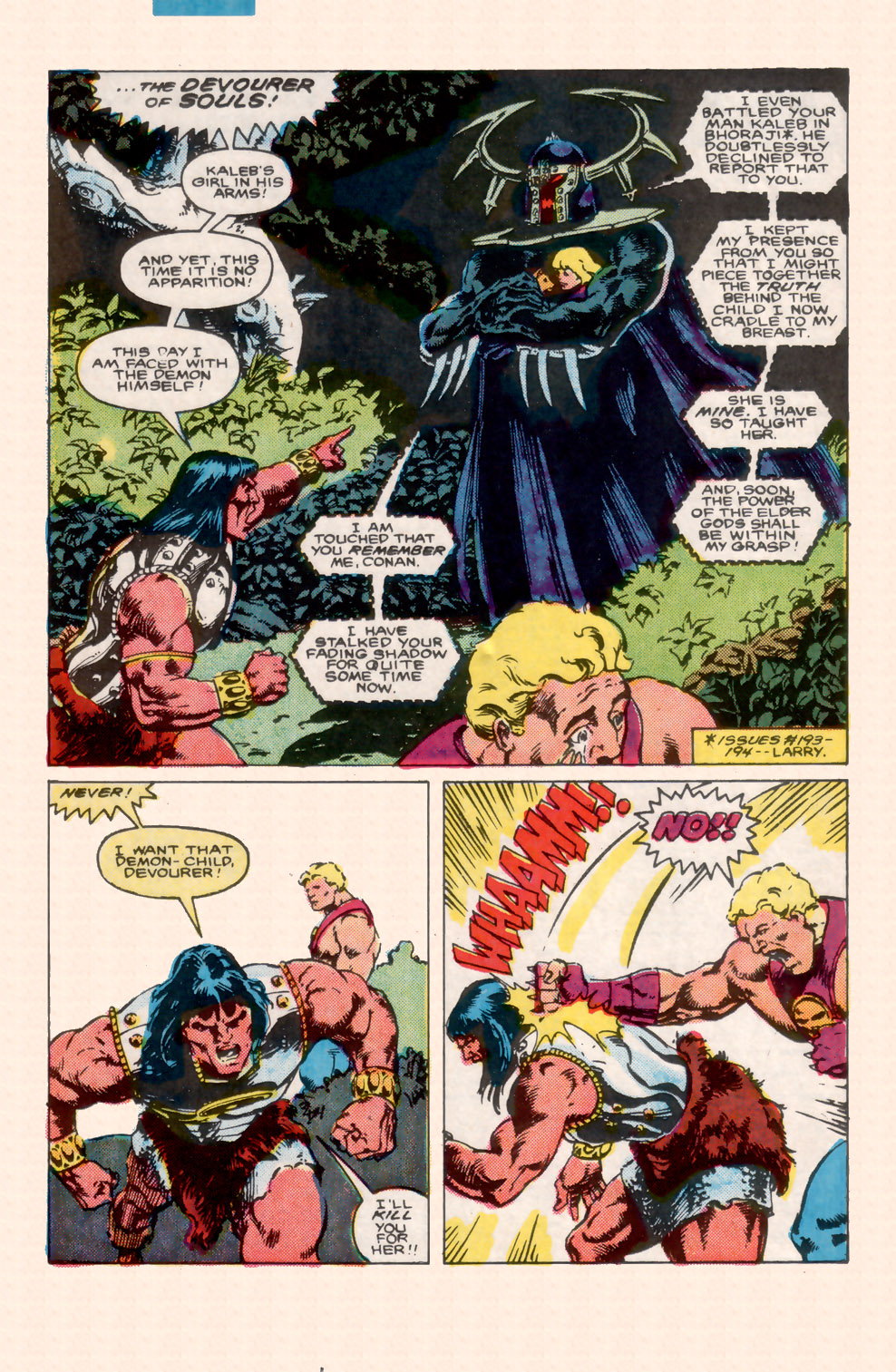 Conan the Barbarian (1970) Issue #199 #211 - English 18