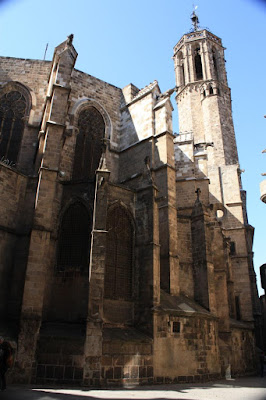 The apse of the Barcelona Cathedral
