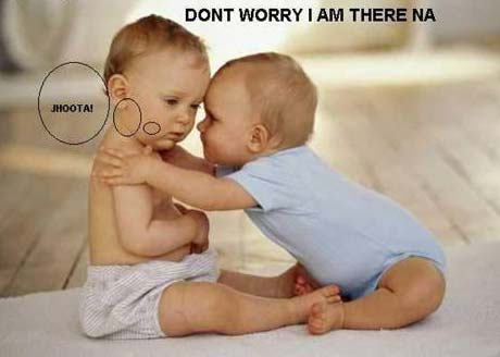 Cute Babies With Funny Love Quotes : Funny Baby Pics Gallery No 2 - Funny Photo Gallery
