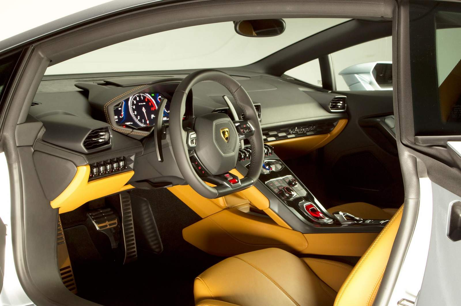 lamborghini huracan fotos do interior em detalhes car blog br. Black Bedroom Furniture Sets. Home Design Ideas