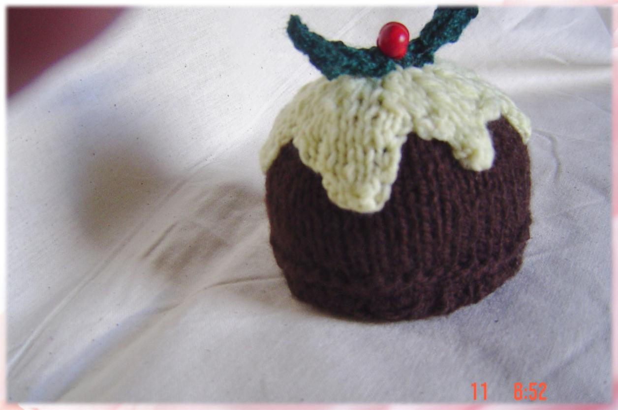 Knitting Pattern For A Christmas Pudding : Hayestackhayes