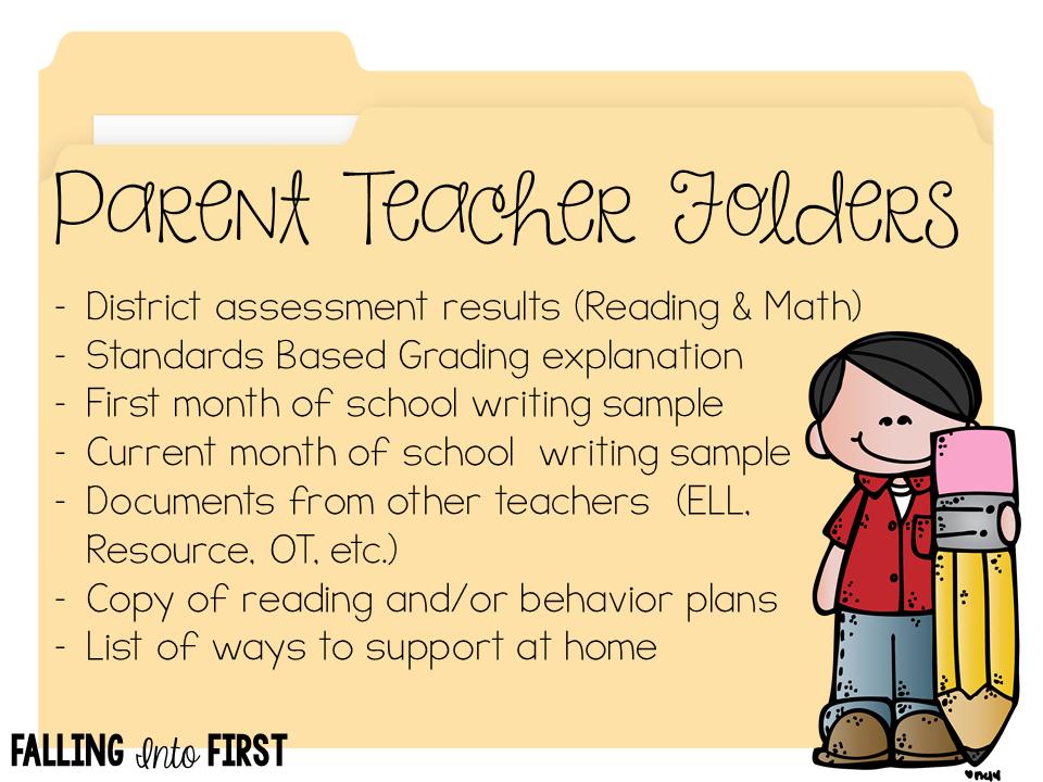 Prepping for Parent Teacher Conferences