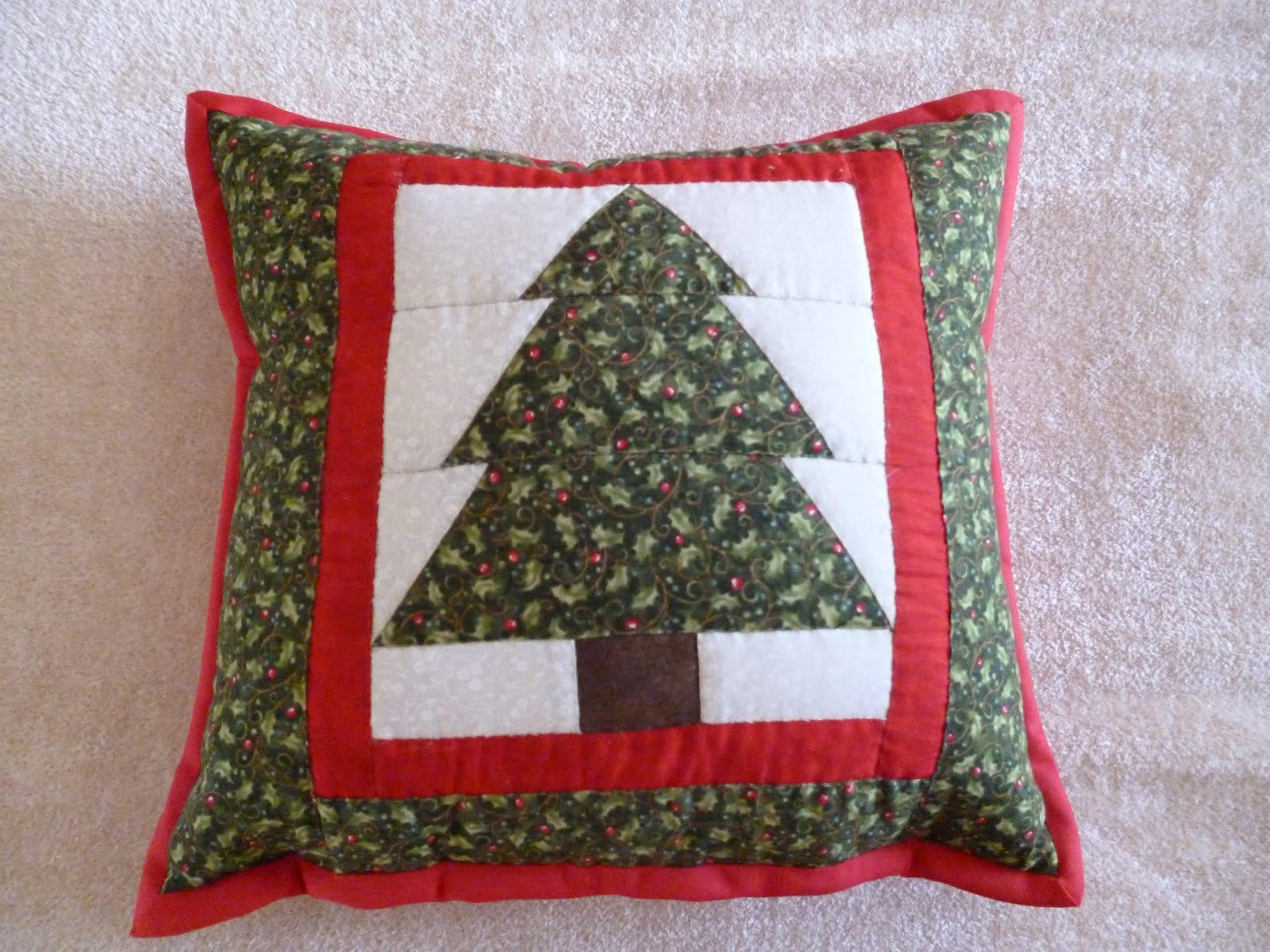 Mari patchwork cojines de navidad - Cojines de navidad ...