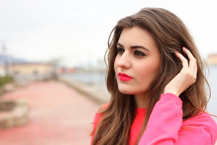 Matteme_sleek_labial_lipstick_pintalabios_brinkpink_tono_fluor_neon_fluorescente_look_outfit_angicupcakes03