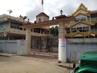 Buddhist Temple in Ramu