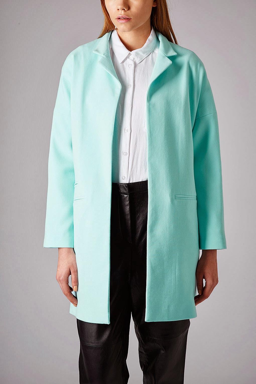 topshop pastel coat