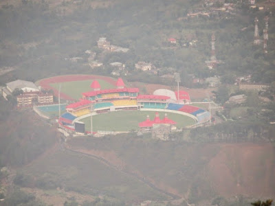 Full zoom to Dharamshala Cricket Stadium