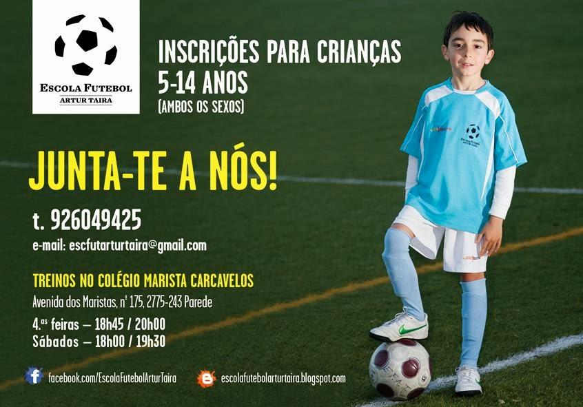 Escola de Futebol Artur Taira - http://escolafutebolarturtaira.blogspot.com/