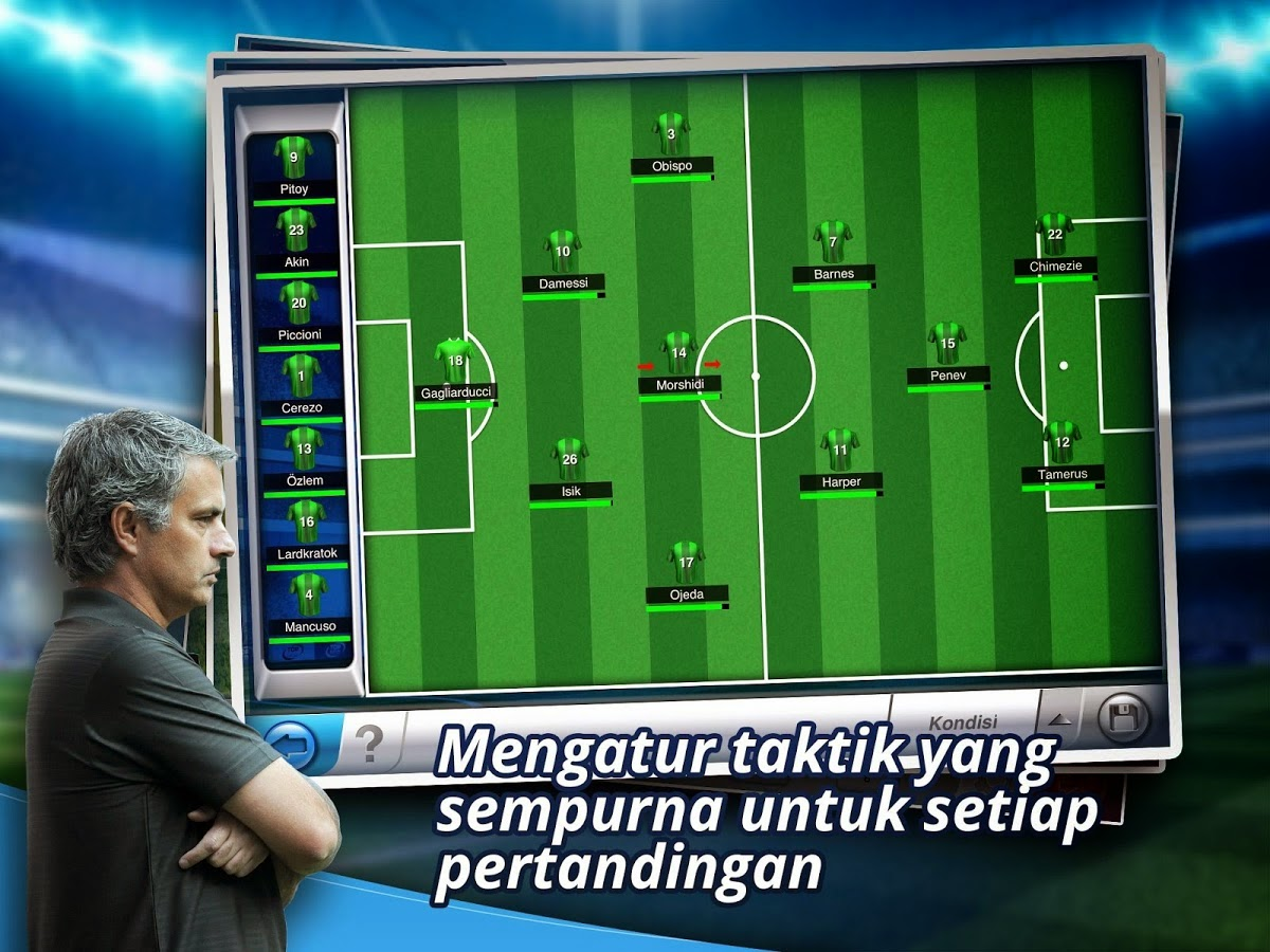 Download Games Android Top Eleven Manager Football Terbaru Asik - 4