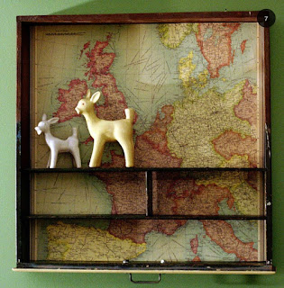 Items made from old maps