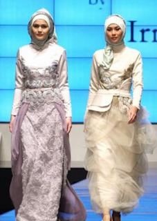 Contoh Gaun Kebaya Modern