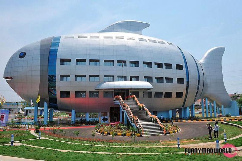 Unique building design oh my world for Unique architecture around the world