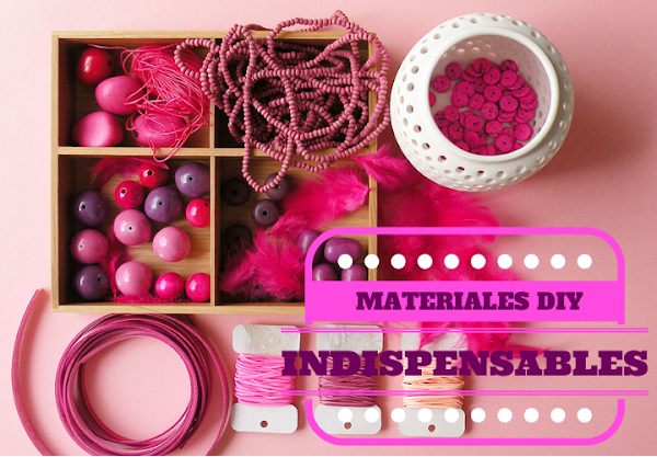 7 Materiales indispensables para tus DIY de moda