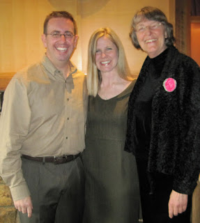Johnny, Krista and Patricia Stimac, Seattle Wedding Officiant