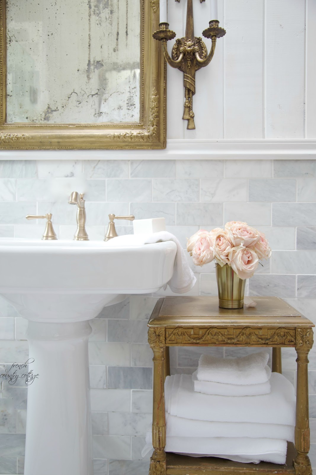 Details~ The Perfect Pedestal Sink
