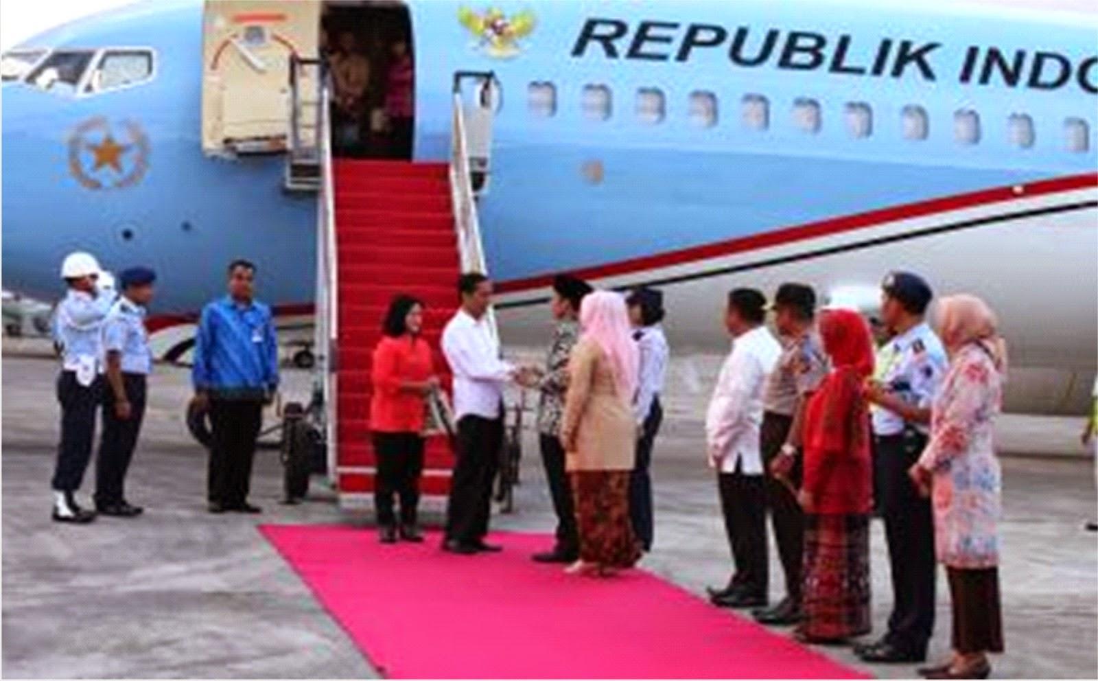 Gubernur Sambut Hangat  Kedatangan Presiden Jokowi di NTB