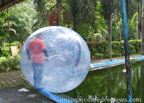 Waterball Park in Davao