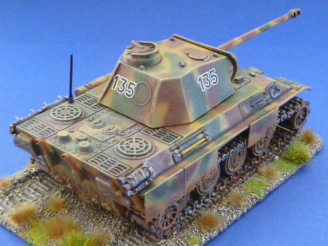 Char Panther Ausf.G de Solido 7
