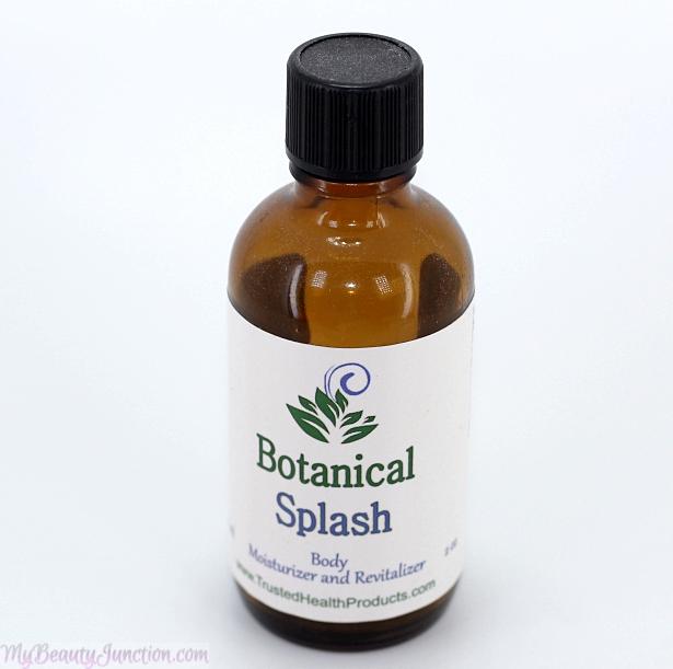 Botanical Splash natural body moisturiser