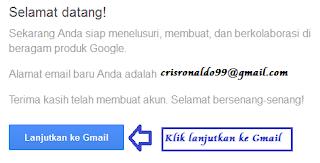 Langkah ketiga cara membuat email gmail 3