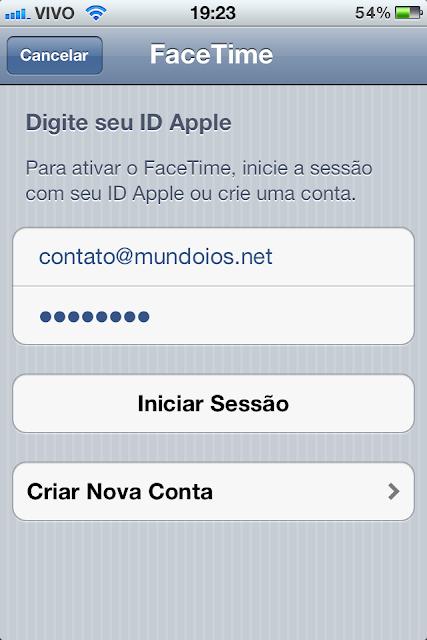 FaceTime - ID Apple