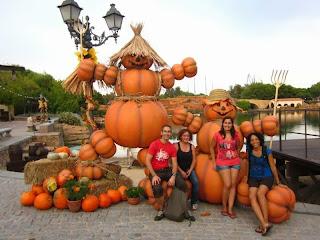 Helloween Pumpkins in Port Aventura