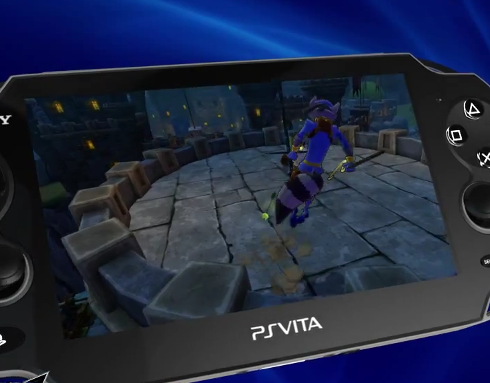 Sly cooper thieves in time announced for ps vita ps vita hub