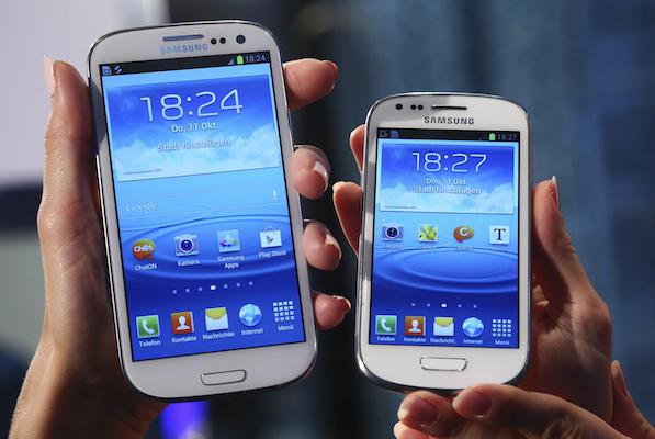 Galaxy S III x Galaxy S III Mini