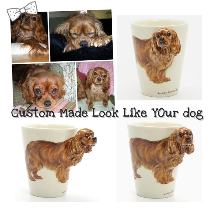 COFFEE MUG Dog Cat Animals and other objects as your request