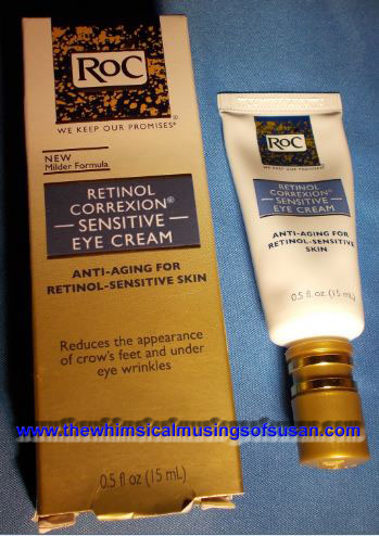 The Whimsical Musings of Susan: Review of RoC Retinol