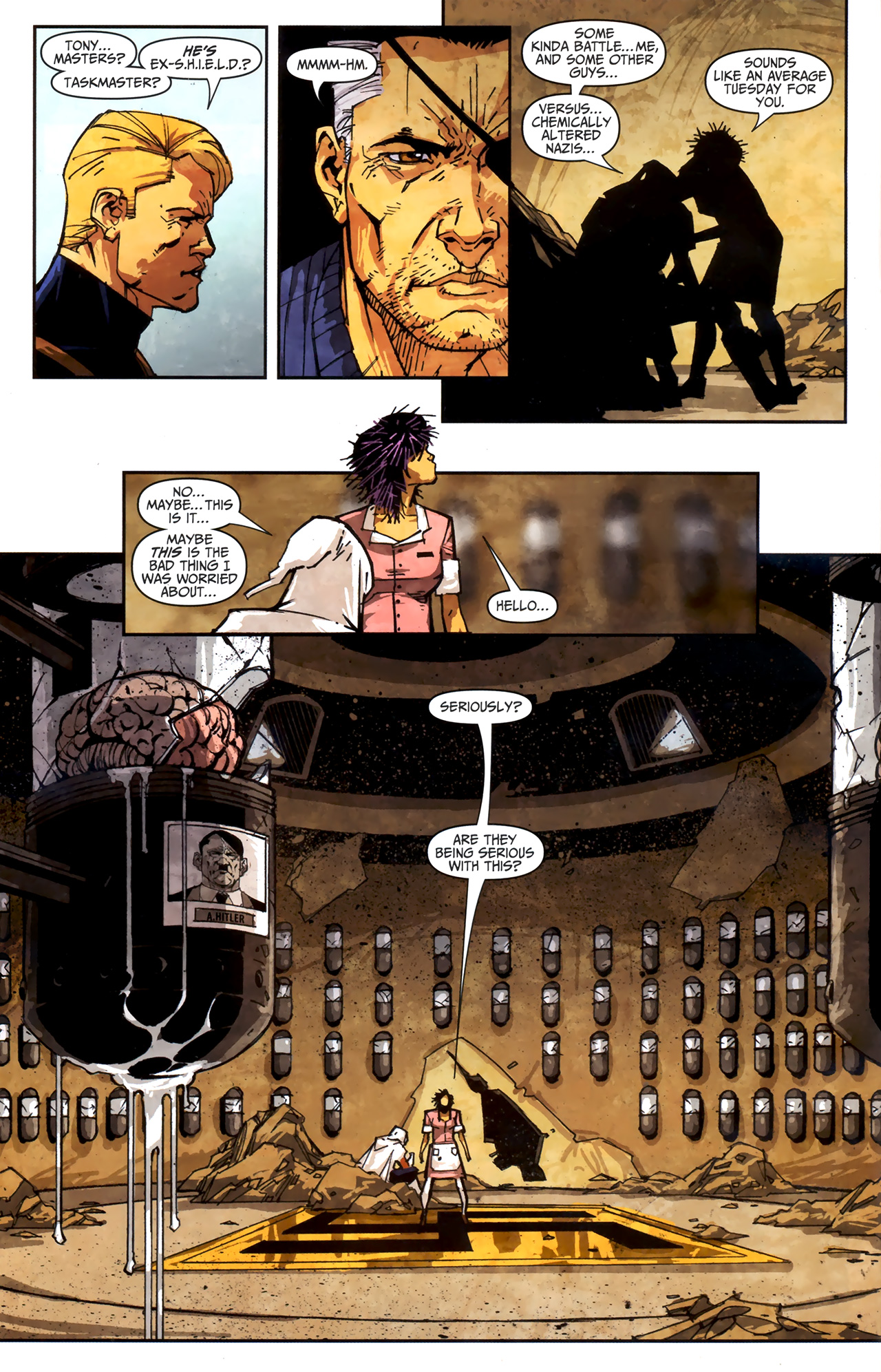 Read online Taskmaster (2010) comic -  Issue #3 - 13